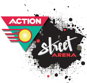 Action street arena final logo